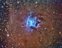 NGC 7023 Iris Nebula Stock Foto's