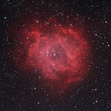NGC 2237 - Rosette Nebula Fotografie Stock Libere da Diritti