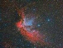 NGC 7380 Wizard Nebula Royalty Free Stock Photography