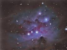 Ngc1977 Running man nebula Stock Photo