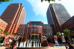 安市购物中心ngee新加坡 免版税图库摄影