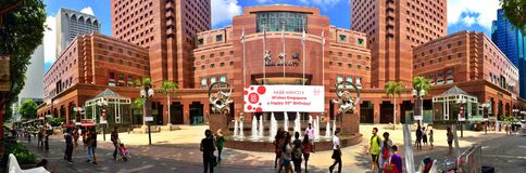 Ngee Ann City, Singapura imagem de stock royalty free