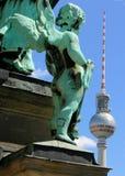 ängel berlin Arkivbild