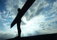 Ángel del Enland del norte. Fotos de archivo