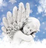 Ángel en el sol Imágenes de archivo libres de regalías