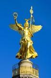ängel guld- berlin Royaltyfria Foton