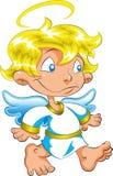ängel little Royaltyfri Bild