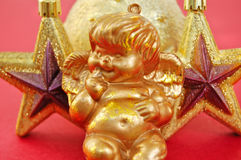Ángel y estrellas Fotos de archivo libres de regalías