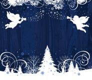 Ángeles de la Navidad. Fotografía de archivo libre de regalías