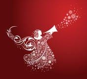 Ángeles de la Navidad. Imagen de archivo libre de regalías