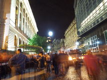 Nght of Museums Romania 2015 Stock Photography