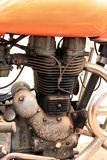 Ð•ngine. Engine of the old motorcycle stock photo