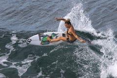 NGirl del surfista Immagine Stock Libera da Diritti