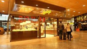 NgliTradition de ¼ de Confiserie Sprà depuis 1836 , chocolat, Suisse Photos libres de droits