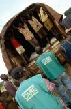 NGO care workers in Burundi. Stock Image