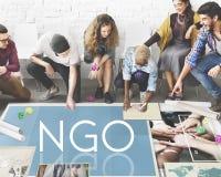 NGO Contribution Corporate Foundation Nonprofit Concept Stock Photo
