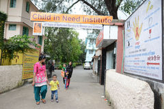 NGO in Kolkata. CINI has been quietly but efficiently working in the areas of women and child health development for a substantially long time now, particularly Royalty Free Stock Image