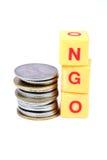 Ngo and money Stock Photo