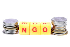 Ngo and money Royalty Free Stock Photography