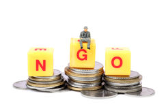Ngo and money Royalty Free Stock Images
