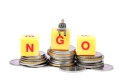 Ngo and money Royalty Free Stock Images