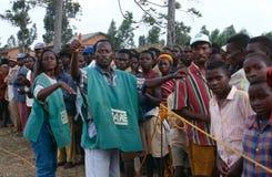 Ngo-OMSORGSarbetare i Burundi. Royaltyfri Fotografi