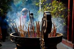 Ngoc-Sohn-Tempel, Hanoi, Vietnam Stockfotos