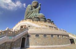 Ngong Ping Big Buddha Royalty Free Stock Photo
