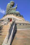 Ngong Ping Big Buddha Royalty Free Stock Photography
