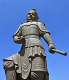 Ngong Ping Buddhist Guardian Statue Foto de archivo libre de regalías