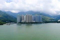 Ngong Ping Cable Car, Hong Kong Foto de archivo
