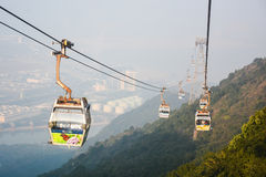 Ngong Ping cable car, Lantau, Hong Kong Stock Photos