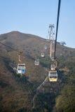 Ngong Ping cable car, Lantau, Hong Kong Royalty Free Stock Image