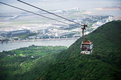 Ngong Ping 360 is a tourism project on Lanta Island in Hong Kong Royalty Free Stock Photography