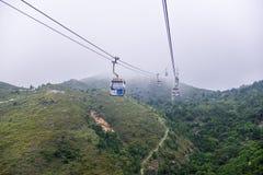 Ngong Ping 360 is a tourism project on Lanta Island in Hong Kong Royalty Free Stock Photo