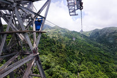 Ngong Ping 360, Tung Chung Cable Car Project Royalty Free Stock Photography