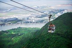 Ngong Ping 360, Tung Chung Cable Car Project Stock Photo