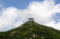 Ngong Ping 360 Tung Chung Hong Kong Royalty Free Stock Photo