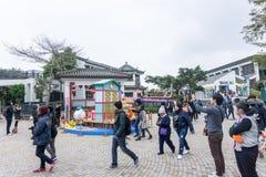 Ngong Ping Village Stockfotos