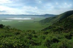 ngongoro кратера Стоковые Изображения