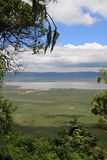 ngorongoro Танзания кратера Стоковые Изображения