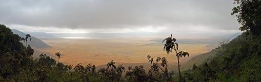 Ngorongoro Caldera - Inside view Royalty Free Stock Image