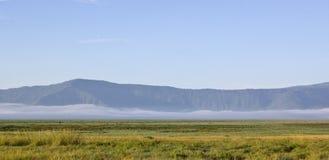 Ngorongoro crater. View of ngorongoro crater tanzania royalty free stock images