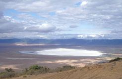 Ngorongoro Crater. The Ngorongoro Crater in Tanzania is haven to a vast array of wildlife Royalty Free Stock Images