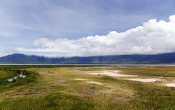 Ngorongoro Crater Conservation Area Stock Photo