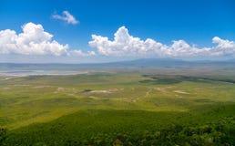 Ngorongoro Crater Royalty Free Stock Photography