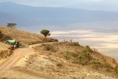 Ngorongoro Crater Stock Images