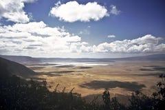 Ngorongoro crater, Tanzania Royalty Free Stock Image