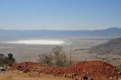 Ngorongoro crater from Tanzania, Africa Royalty Free Stock Photography