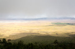 Ngorongoro Crater, Tanzania Royalty Free Stock Photography